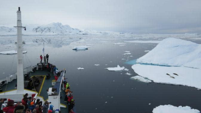 Antartika (Sumber foto: Stephanie Huston)