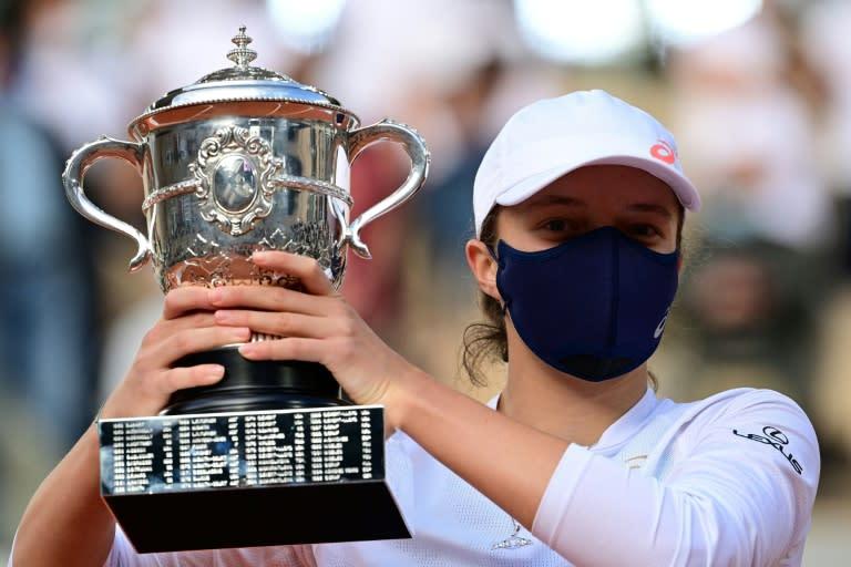 Five things on French Open champion Iga Swiatek