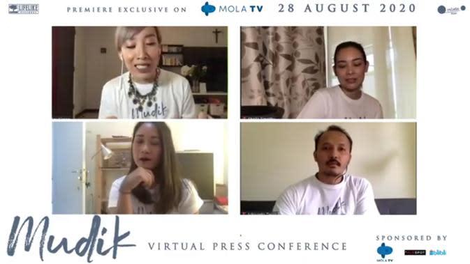 Konferensi Pers Film Mudik (Rivan Yuristiawan/Fimela.com)