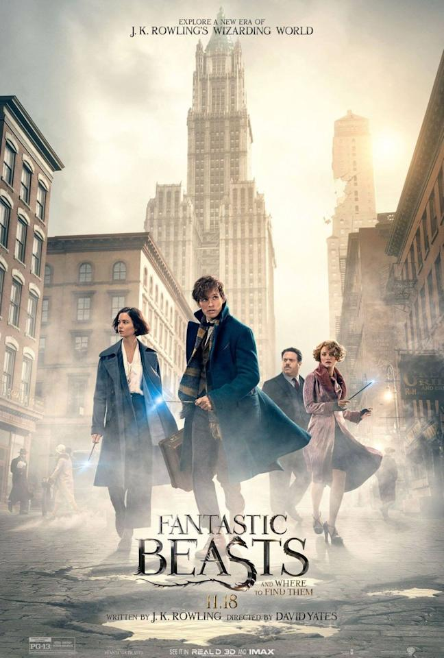 "<p><em>Fantastic Beasts</em> takes us to a new era, decades before Harry was born. Set in 1920s New York, we meet Newt Scamander, a wizard zoologist who carries around a case filled with the most fantastical beasts in the Wizarding World. In a lot of ways, the film follows the same structure as <em>Harry Potter</em>: evil wizard trying to take over the world, something strange wreaking havoc on the city, and our hero Newt must stop it all with the help of his friends ... but this time, his friends aren't just humans.</p><p><a class=""body-btn-link"" href=""https://www.amazon.com/gp/video/detail/B01MRH9YGH/ref=atv_dp_b07_det_c_UTPsmN_1_1?tag=syn-yahoo-20&ascsubtag=%5Bartid%7C10055.g.33625559%5Bsrc%7Cyahoo-us"" target=""_blank"">WATCH NOW</a></p>"