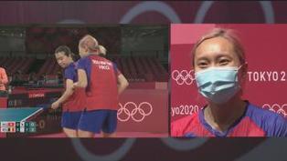 女子乒乓球團體賽港隊躋身四強 周二晚爭入決賽