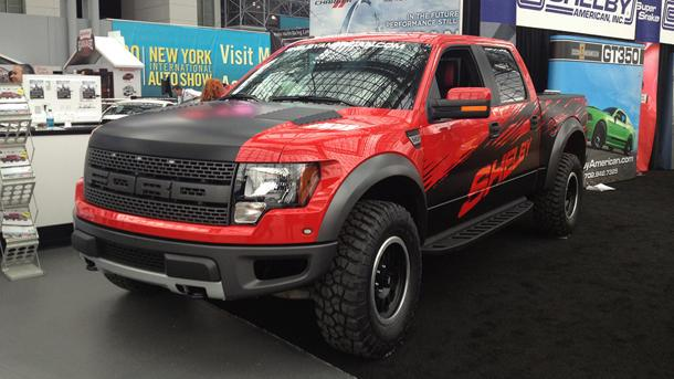 Shelby tweaks the Ford Raptor into a 575-hp monster truck