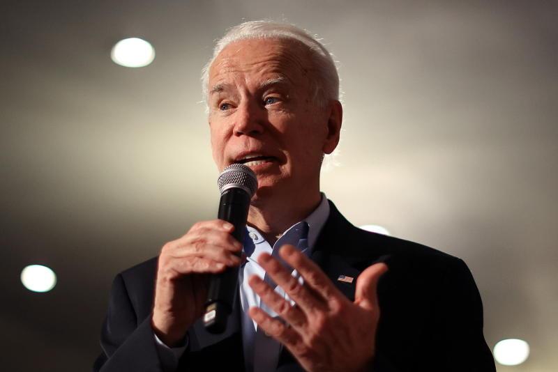 Democratic Presidential Candidate Joe Biden Campaigns In Iowa