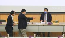 管中閔主持台大校務會議(2) (圖)