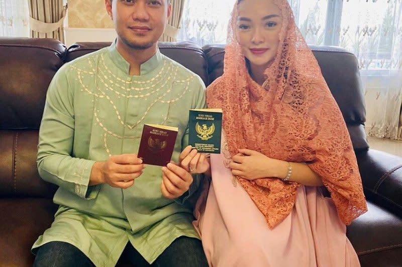 Zaskia Gotik resmikan pernikahan secara negara