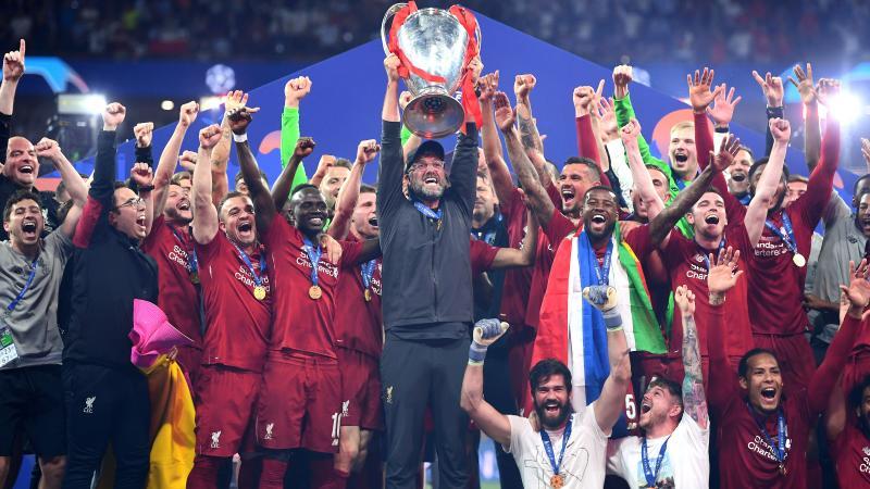Jurgen Klopp Liverpool Champions League Winner 06/01/19