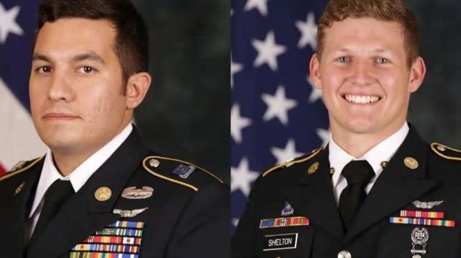 VIVA Militer: Sersan Vincent P.Marketta (kiri) dan Sgt Tyler M. Shelton