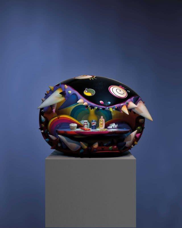 Takashi Murakami and Pharrell Williams' sculpture to go under the hammer at Christie's