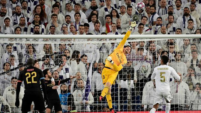 Real Madrid vs Manchester City. (JAVIER SORIANO / AFP)