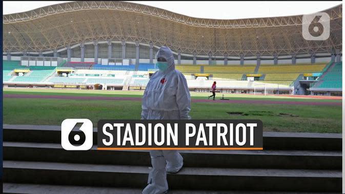 VIDEO: Stadion Patriot Siap Tampung Pasien Covid-19