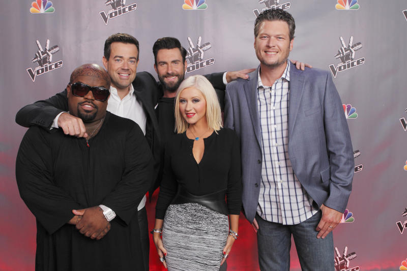 "Christina Aguilera on 'Voice' Cast Reunion: ""When I'm Around Them, I Become a 12-Year-Old Boy!"""