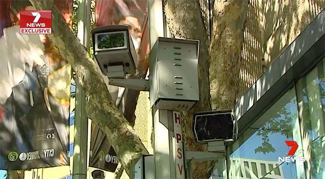 The red light speed camera in Sydney's CBD is on track for a new record, to earn the State Government $7 million in one year. Source: 7 News