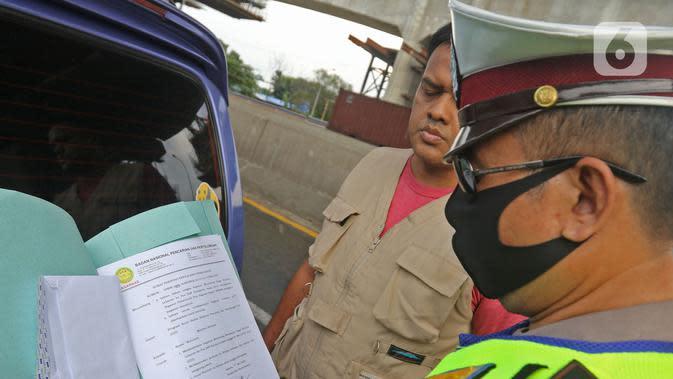 H-2 Lebaran, Polisi Putar Balik 61 Ribu Kendaraan Pemudik