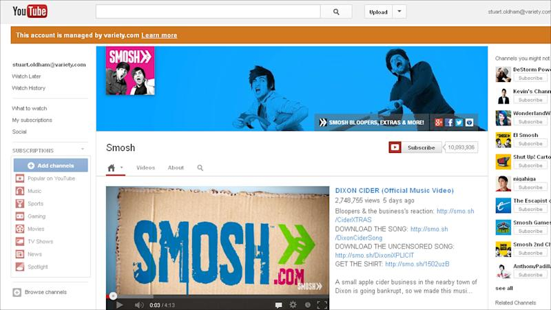 Top YouTube Channel Smosh Eyes Jump to TV (EXCLUSIVE)