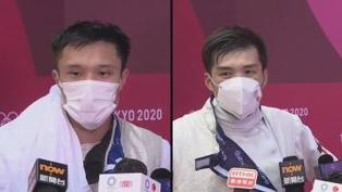【運動員心聲】蔡俊彥:感謝藝人朋友打氣 張小倫:團體賽再努力