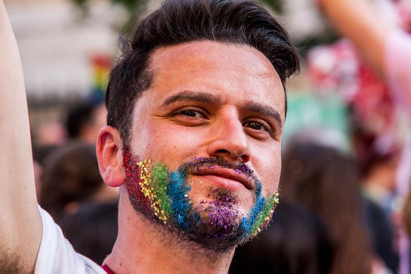 Athens Pride is celebrated with a parade in the streets of Athens. This year's parade was dedicated to Zak Kostopoulos, a member of the LGBTQ community who was beaten to death some months ago.