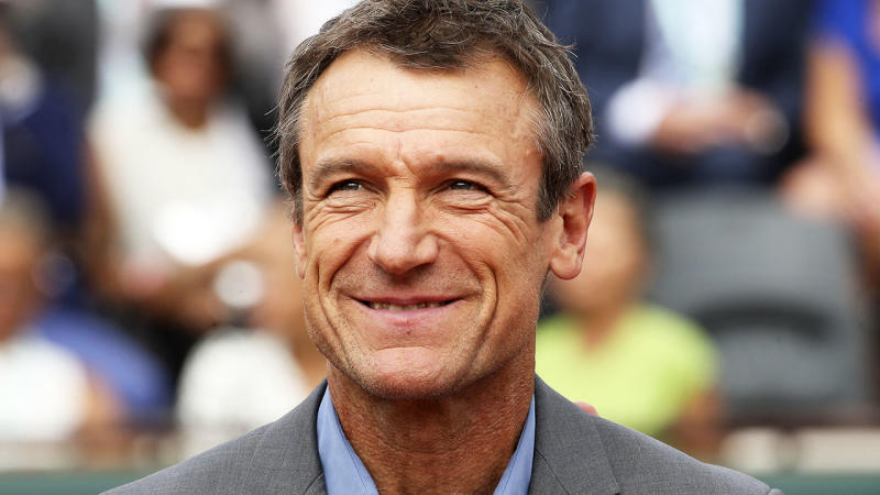 Mats Wilander, seen at the French Open in 2018. (Photo by Jean Catuffe/Getty Images)