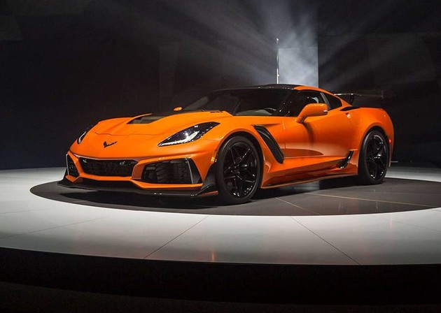 北美之王回歸!755hp的2019 Chevrolet Corvette ZR1發表