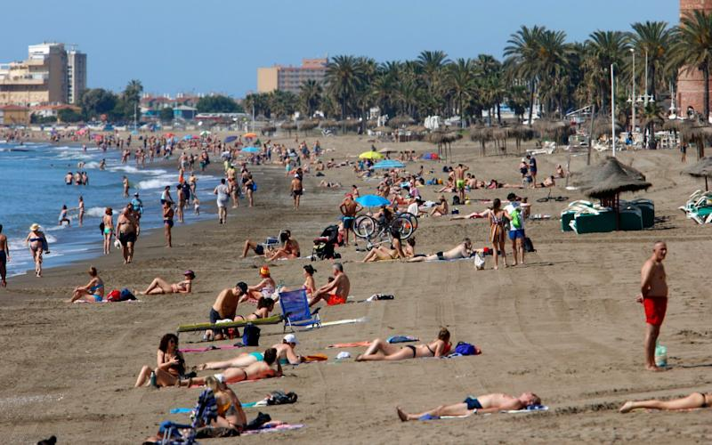 Locals have begun returning to beaches as one of the world's most stringent lockdowns has started lifting - Europa Press/Europa Press News
