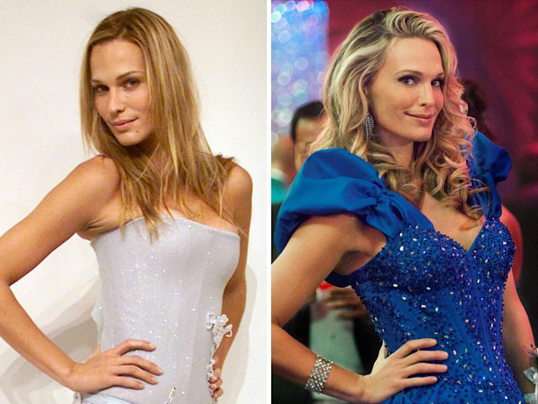 "Molly Sims (2001 Victoria's Secret Fashion Show, 2011 ""The Wedding Band"""