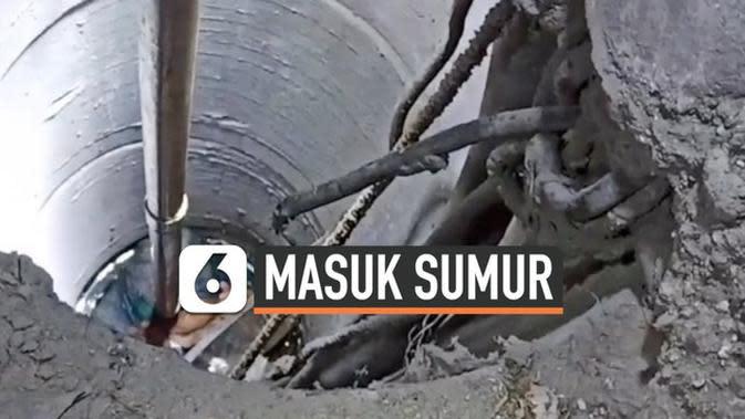 VIDEO: Balita Jatuh ke Sumur Sedalam Lima Meter