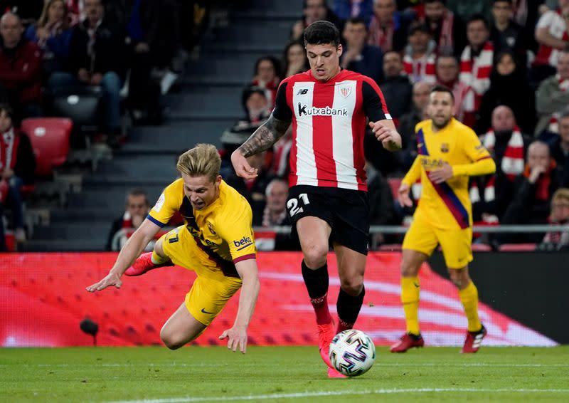 Copa del Rey - Athletic Bilbao v FC Barcelona