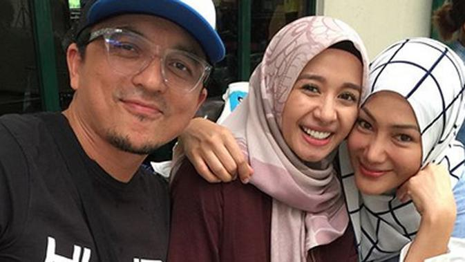 Laudya Cynthia Bella, Engku Emran dan Erra Fazira. (Instagram/errafazira)
