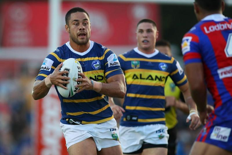 All eyes will be on the Hayne Plane when the Eels kick off their season against Penrith. Pic: Getty