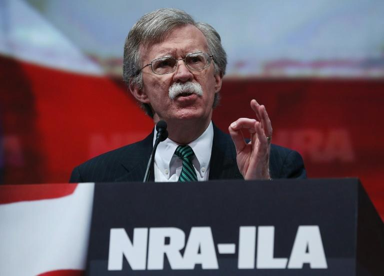 John Bolton, who has flirted with a presidential run, speaks at a meeting of the National Rifle Association in Houston in 2013