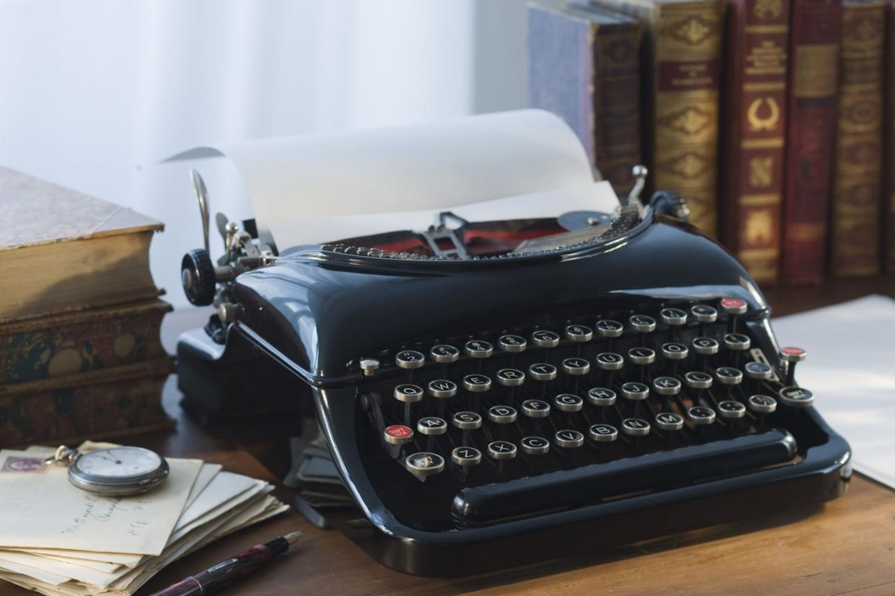 """<p>The older the typewriter, the more valuable it is. If your parents inherited a pre-1940s model—and it's still in working condition—it <a href=""""https://priceonomics.com/typewriter-price-guide/"""" target=""""_blank"""">could be worth up to $800</a> today.</p>"""
