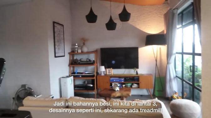 Potret Rumah Ayudia Bing Slamet dan Ditto Pradana. (Sumber: YouTube #temantapimenikah)