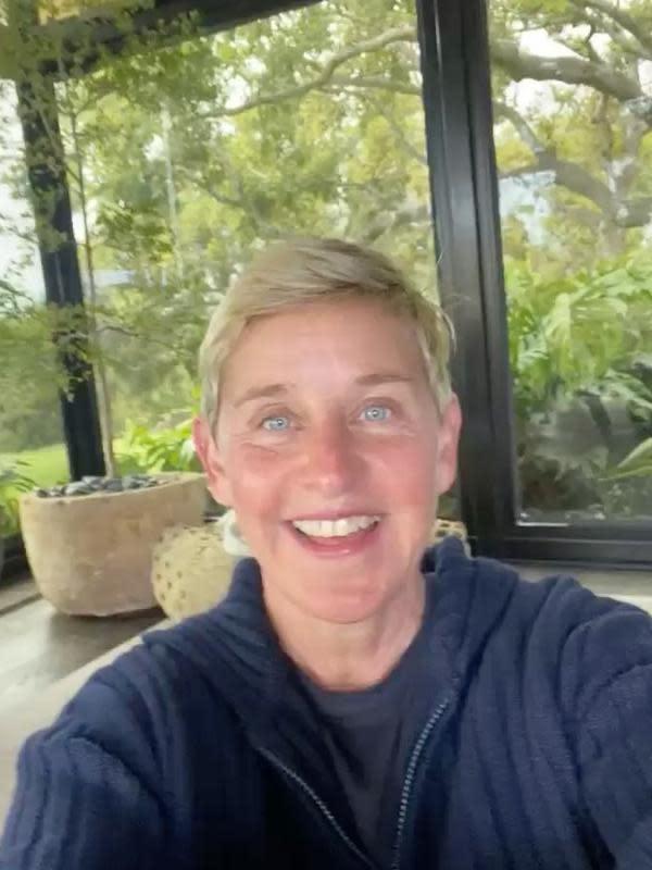 Ellen DeGeneres (Instagram/ theellenshow)