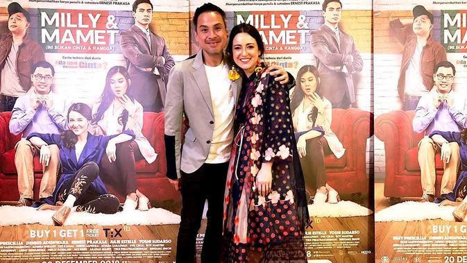Potret Kedekatan Julie Estelle dan David Tjiptobiantoro (sumber: instagram/davidtjipto)
