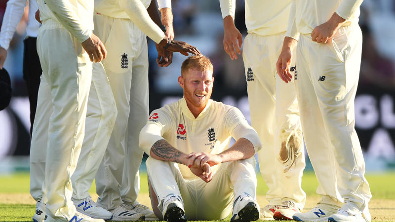 Ben Stokes was savaged for a poor shot in England's abysmal collapse. (Getty Images)