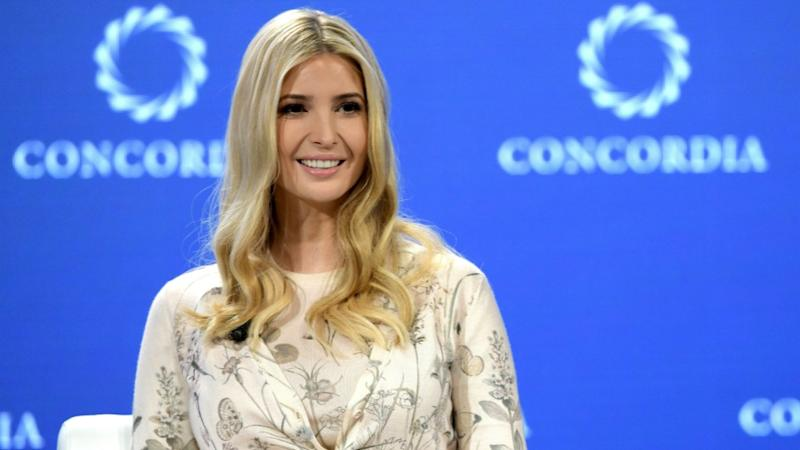 Ivanka is typically know for her locks being both blonde and long. Photo: Getty Images