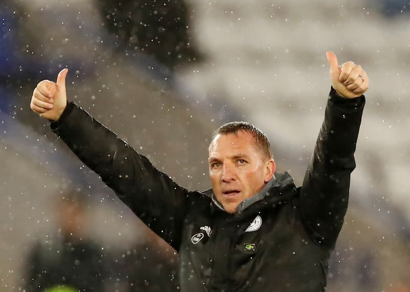 Leicester boss Rodgers says he caught coronavirus but has recovered