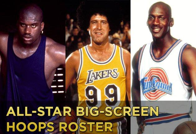March Madness Inspired All-Time Hollywood Hoops Roster