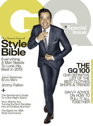 Jimmy Fallon Talks 'Tonight Show' in GQ