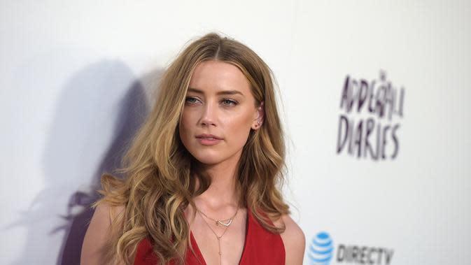 Amber Heard. (AFP)
