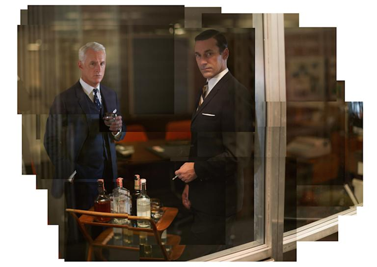 John Slattery and Jon Hamm