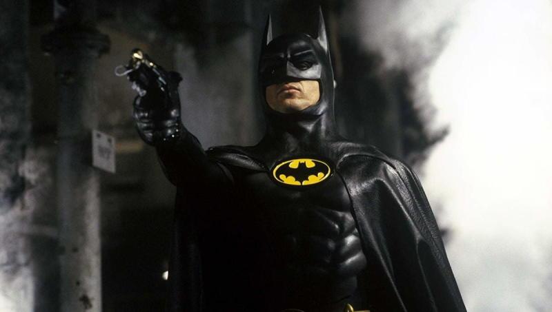 Michael Keaton as Batman in 1989's Batman