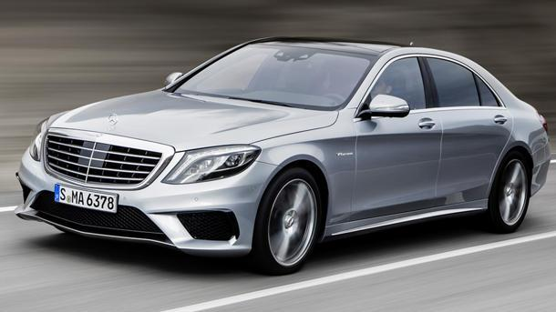 Mercedes reveals 2014 S63 AMG 4MATIC, a 577-hp luxury suite