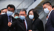 總統赴台北港視察非洲豬瘟檢疫(1) (圖)