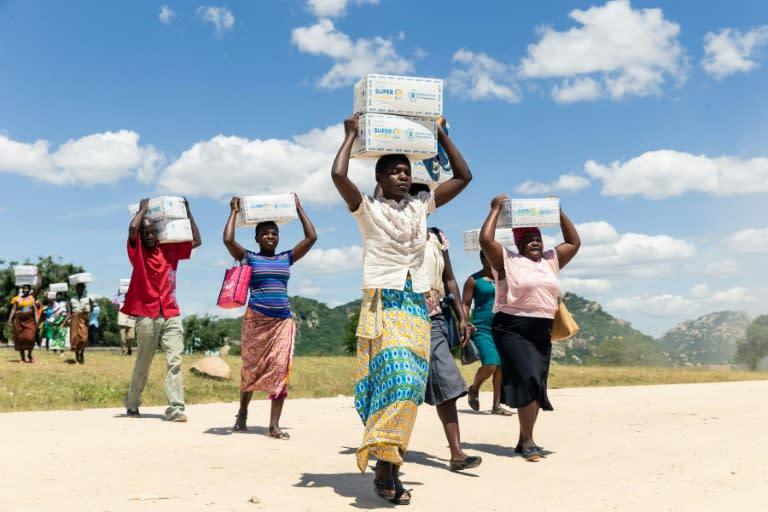 WFP frontline staff express shock, pride over Nobel
