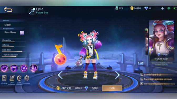 Lylia: Future Star (Special)