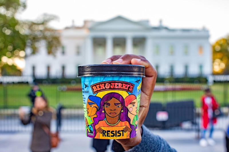 Ben & Jerry's Releases Statement About Dismantling White Supremacy: 'Silence Is NOT An Option'