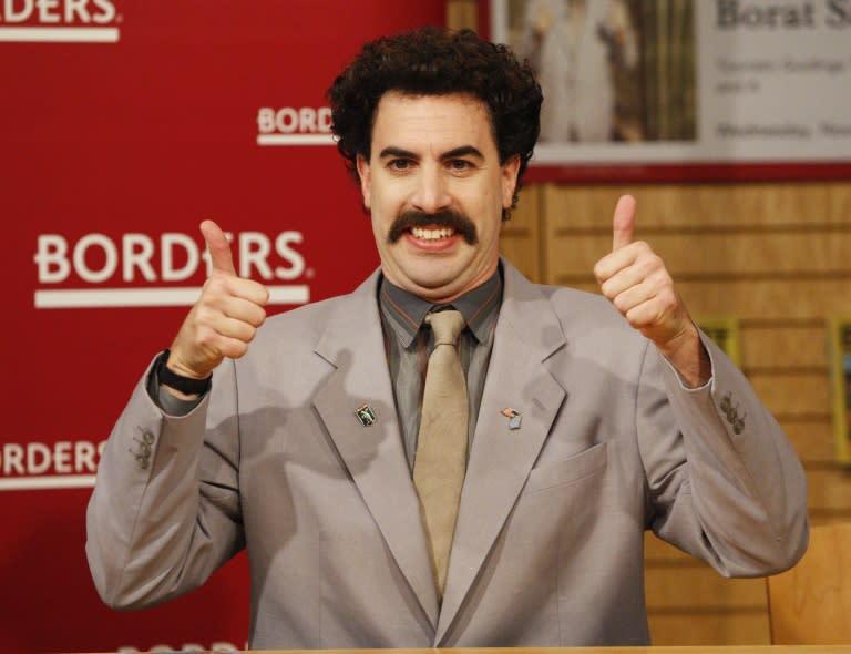 Very nice! 'Borat' sequel coming to Amazon Prime