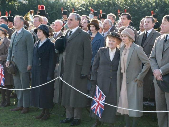 英國皇家夫妻來到唐頓莊園?