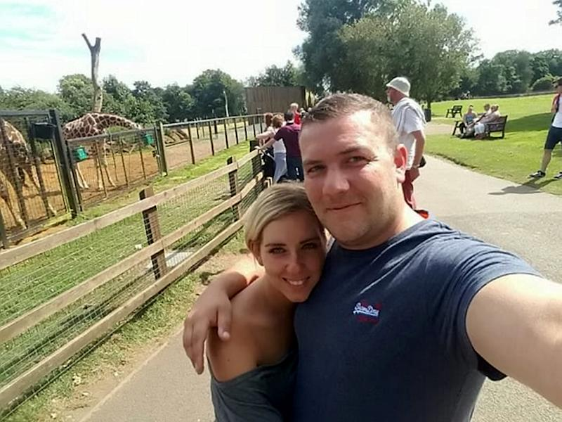 James Fuller proposed to partner of 13 years Steph Carr in August 2018 [Image: SWNS]
