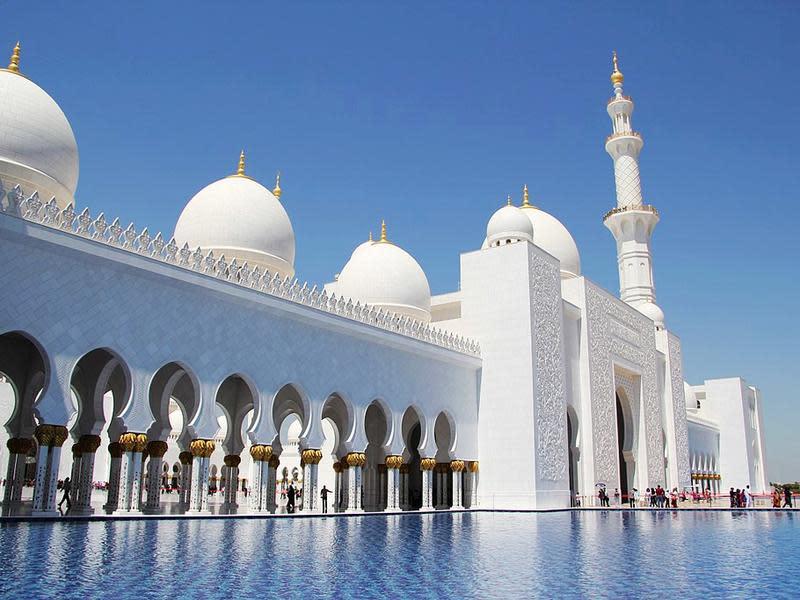 阿聯酋阿布達比大清真寺